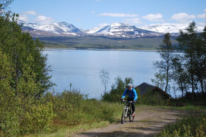 Åpner siden om skiltede sykkelruter i Tydal