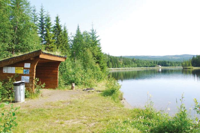 Åpner dialogboks med mer informasjon om båtutleie for Græslidammen