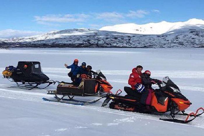 Åpner hjemmesiden til Stugudal snøscooterutleie i ny fane