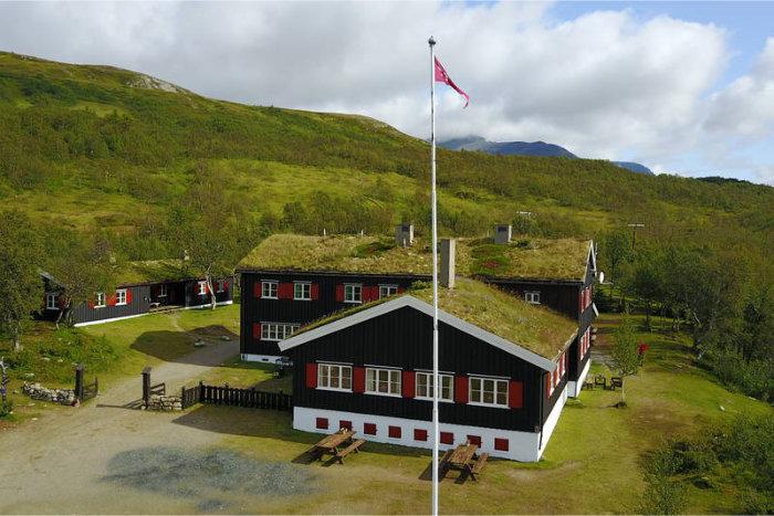 Nedalshytta. Foto Trondheim Turistforening/Jonny Remmereit